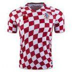 2016 Euro Croatia National Team Home Soccer Jersey