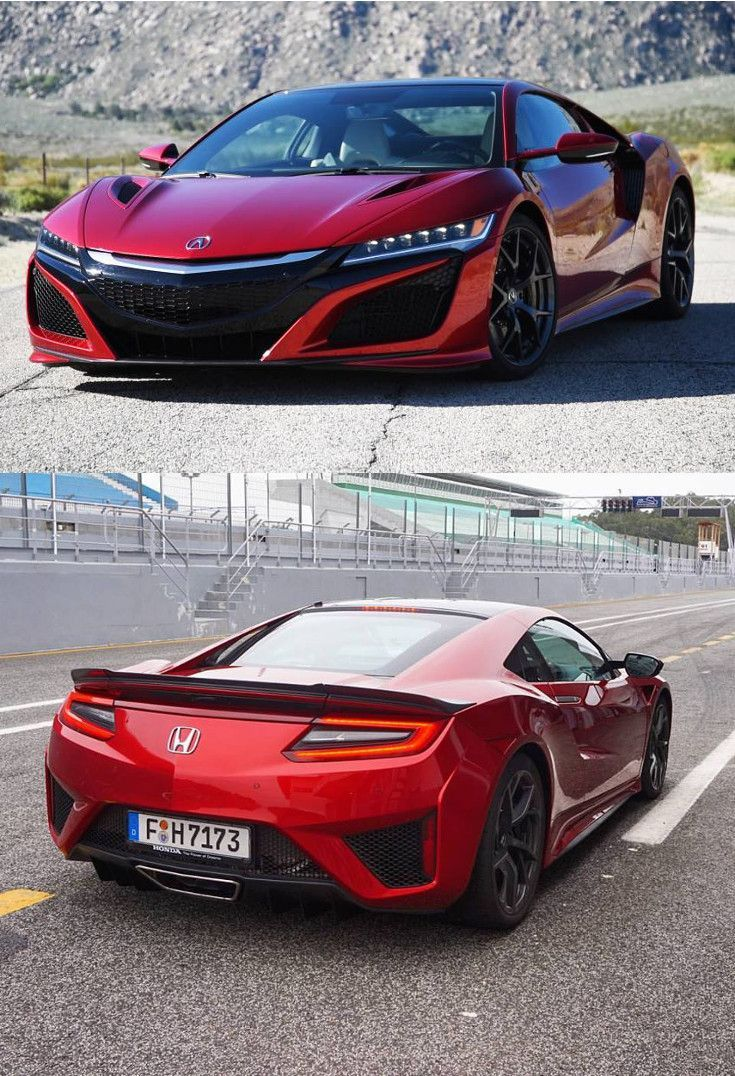 Honda Nsx 2017 Look At These Sports Cars Cly And Luxurious Car There Are Lamborghini Ferrari Bmw Audi Bugati Etc Coolcar Nicecar