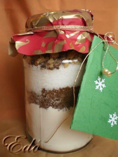 Csokis sütikeverék ajándékba