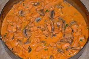 Brazillian Stroganoff - one of our favorite meals!