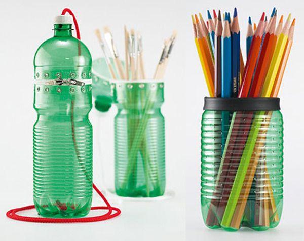 Как использовать пластиковые бутылки с пользой?