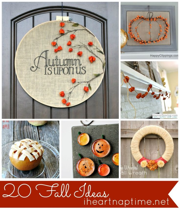 20 Projects to fall into Fall {Features}