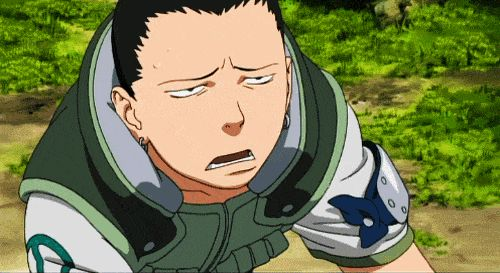 None can do the facepalm as beautiful and elegantly as the one known as Shikamaru I give it a 10/10