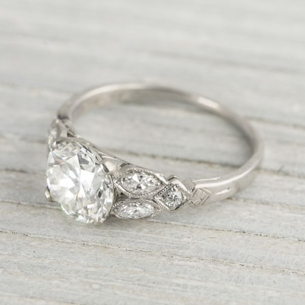 25 best ideas about Art Deco Engagement Rings on Pinterest