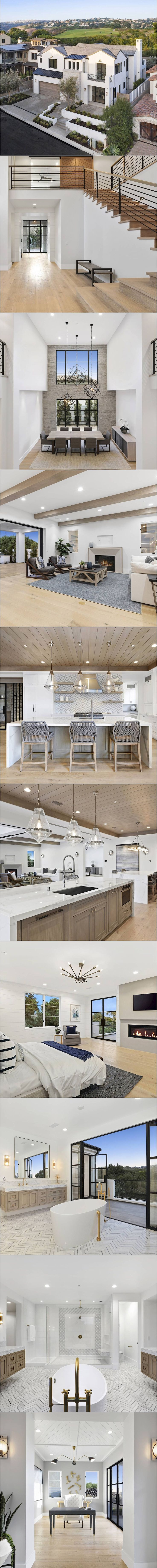 Renown custom homebuilder, Brixton Developers & Co., presents one of Corona del Mar's finest new custom homes. This modern transitional masterpiece epitomizes stylish coastal living and offers ocean & golf course views in the highly-regarded community of Corona Highlands. Light & bright interiors define the home's sophisticated living spaces which are accentuated by stunning architectural […]