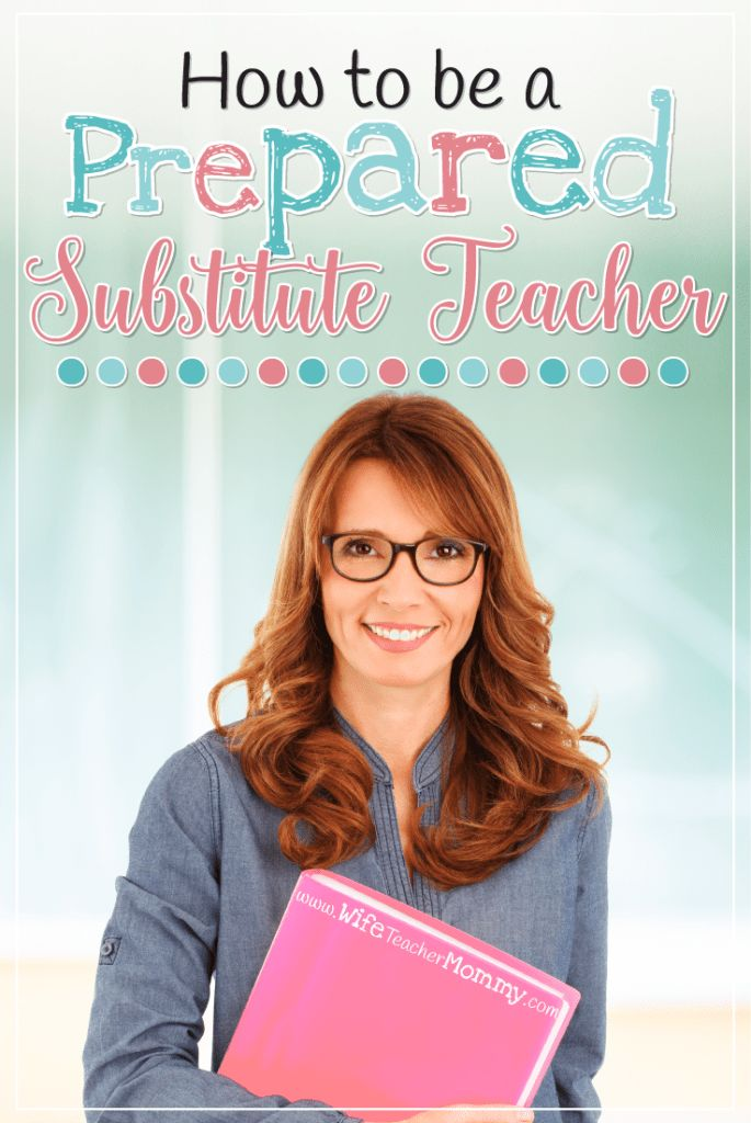 Are you a substitute teacher Learn some
