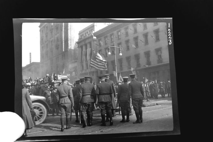 Cyanotype Photo & Negative Police Law Enforcement Military Army Veterans Day PA
