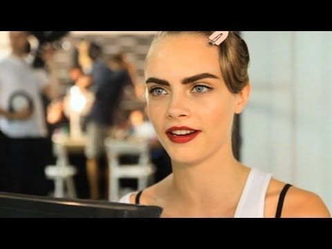 JASON WU Spring 2013 ft Cara Delevingne NY Fashion Week | MODTV  http://www.youtube.com/watch?v=OFfXG-RBlC8