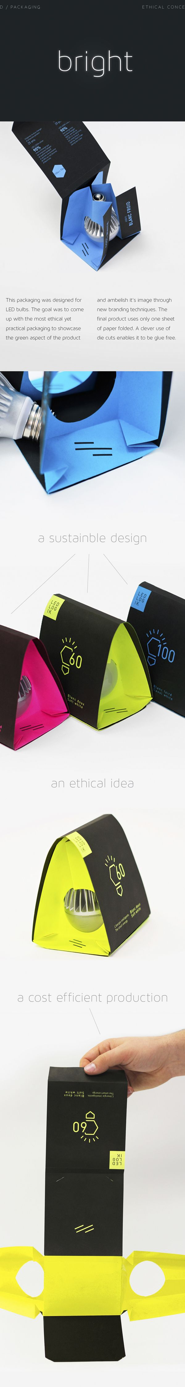 Led Light Bulbs on Behance  Turns into a bird feeder? Not weather proof, but some kind of housing for small critter