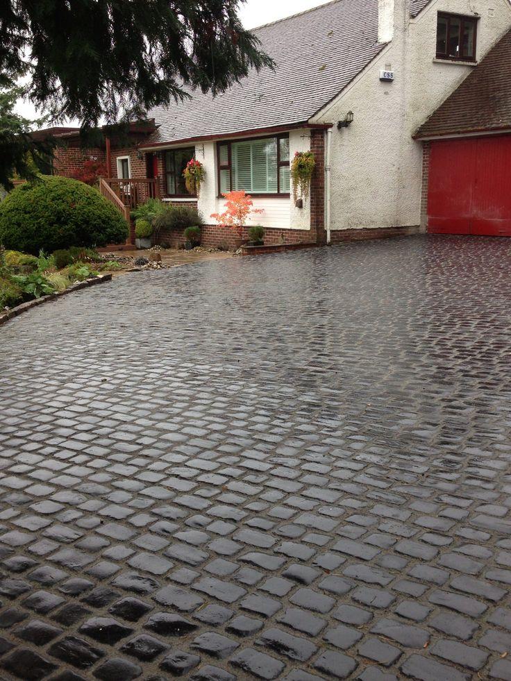 Best 25 cobblestone driveway ideas on pinterest for New driveway ideas
