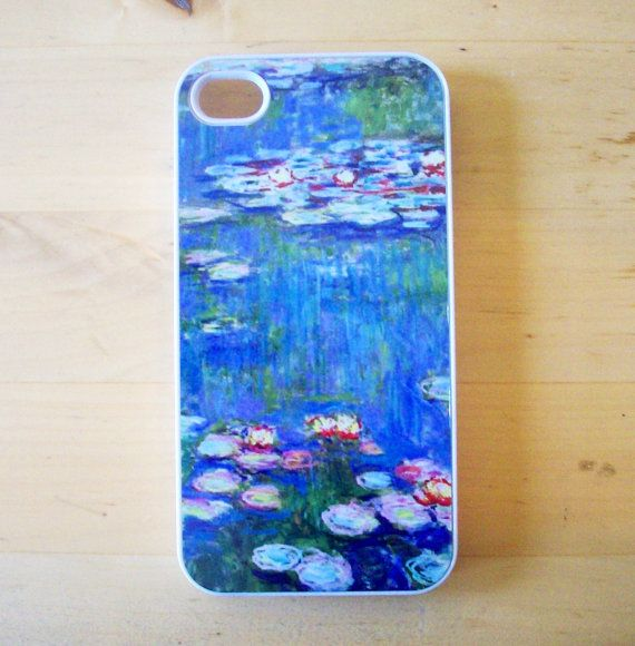 Claude Monet  Water Lilies iPhone 4/4S case by GelertDesign, £7.00