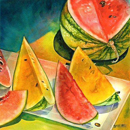 DesignerHill-food paintings