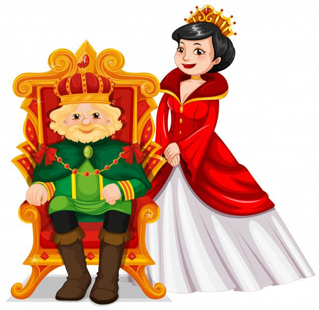 King And Queen At The Throne Free Vector Free Vector Freepik Freevector People Crown Man Character Princess Cartoon Person Cartoon Princess Drawings King and queen cartoon wallpaper