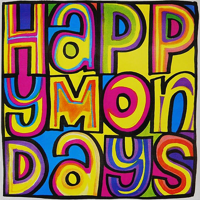 Happy Mondays - Wrote For Luck.   FAC 212 (1988). Design: Central Station Design