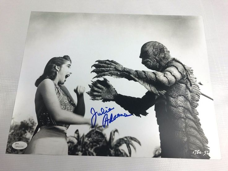 Julie Adams Signed Creature from the Black Lagoon Autograph 11x14 Photo JSA 5