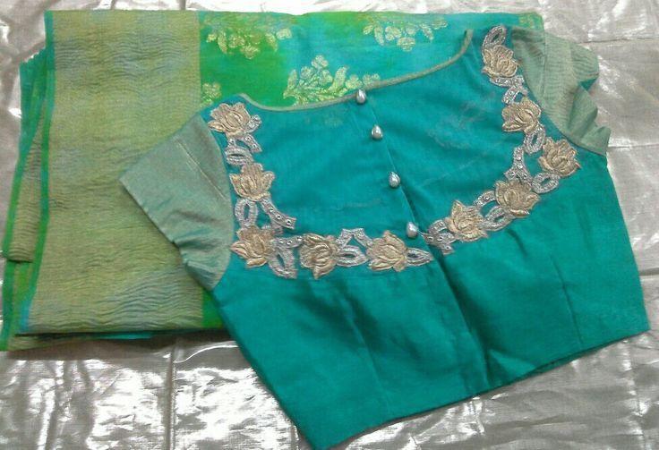 Banarsi saree with havi blouse