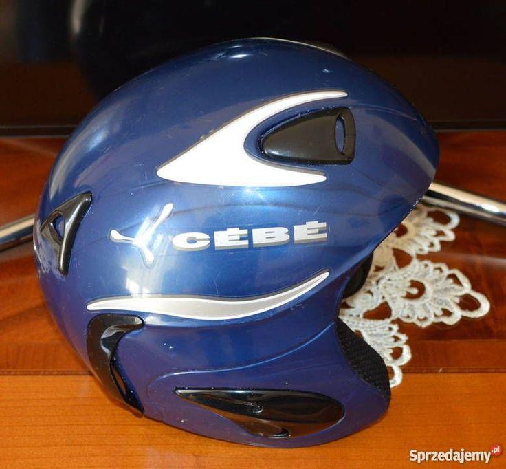 Kask narciarski CEBE rozmiar 54 XS niebieski