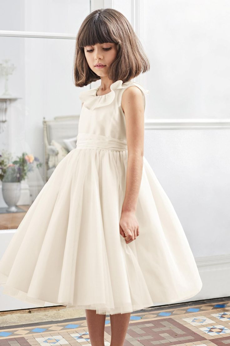 Ivory bridesmaid dress 3mths 12yrs from the next uk online shop ivory bridesmaid dress 3mths 12yrs from the next uk online shop wedding pinterest ombrellifo Images