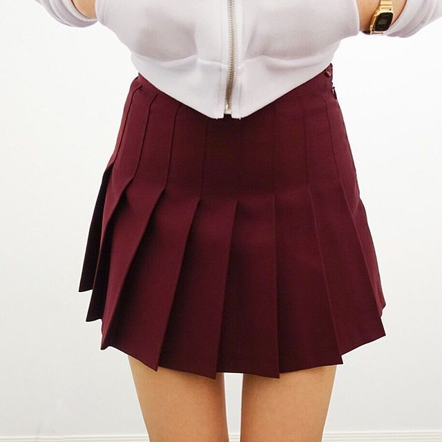 how to make a knife pleated skirt