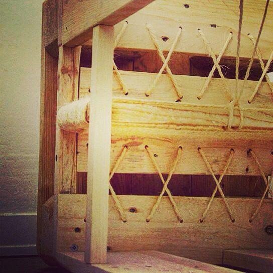 Trasformare un pallet in oggetto di design: backstage creazione progetto vincitore del pallet contest di Conlegno #ecodesign www.800x1200.it
