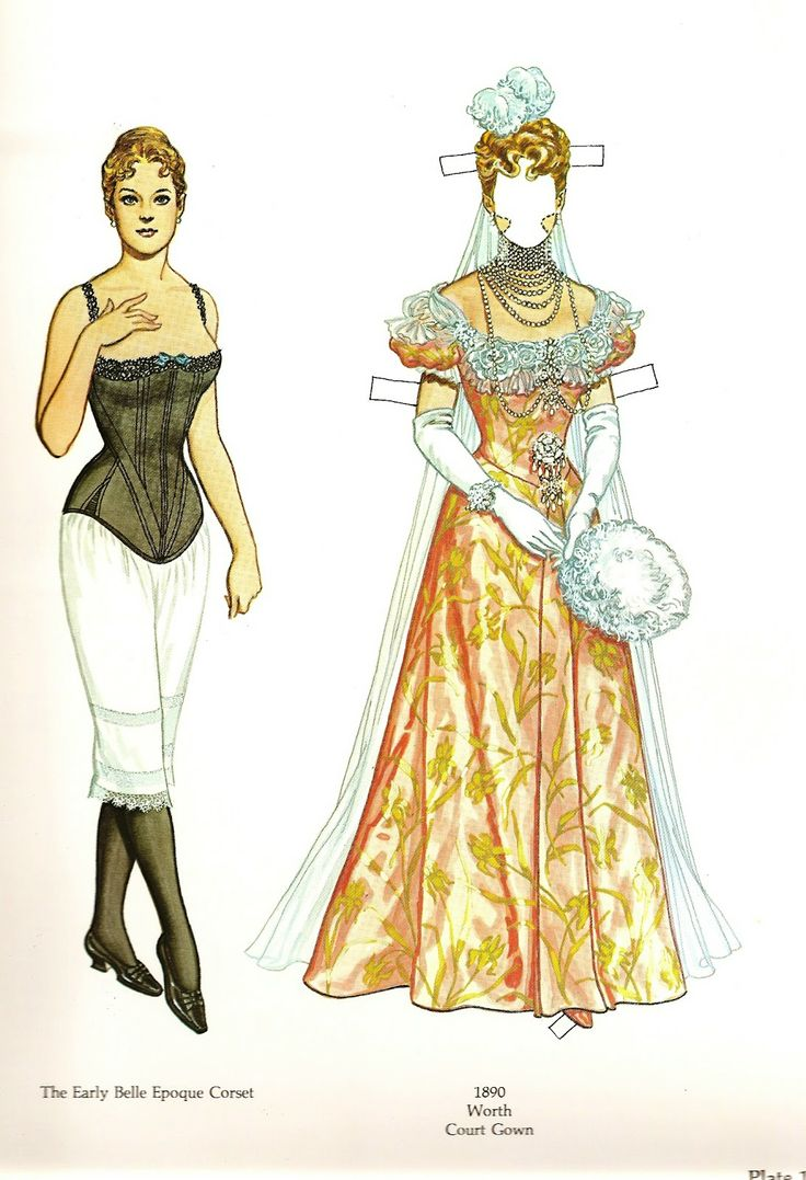 Tom tierney colonial fashions paper dolls - Great Fashion Designs Of La Belle Poque Great Fashion Designs Of La Belle Poque Paper Dolls By Tom Tierney