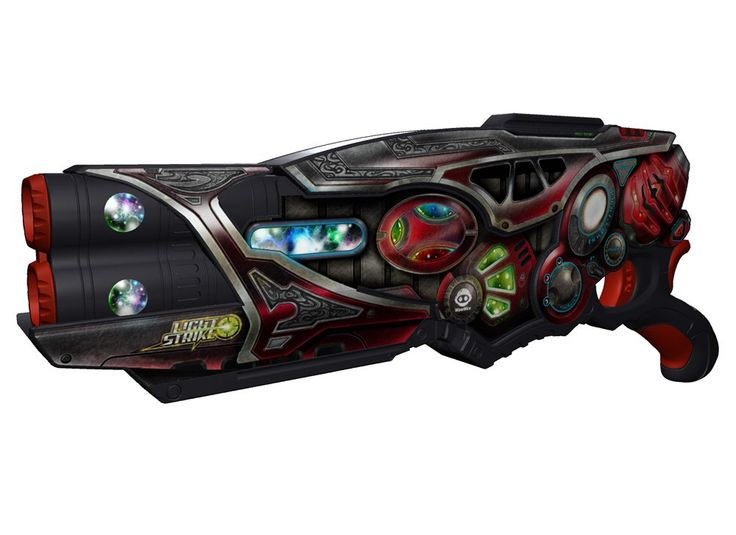 Wowwee Light Strike Assault Striker With Simple Target - Red