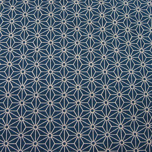 Closet Window Seat- Japanese Hemp Leaf Pattern Fabric
