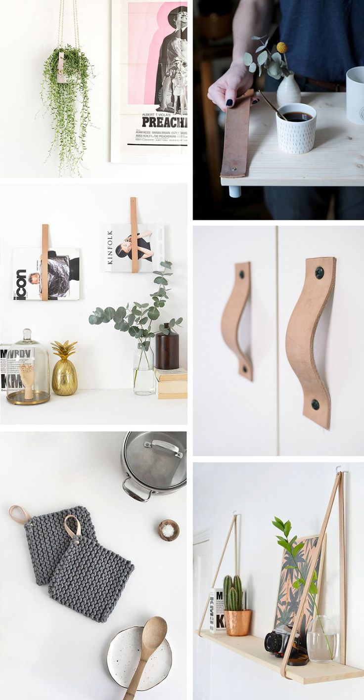 GET INSPIRED: PRETTY DIY LEATHER STRAP IDEAS