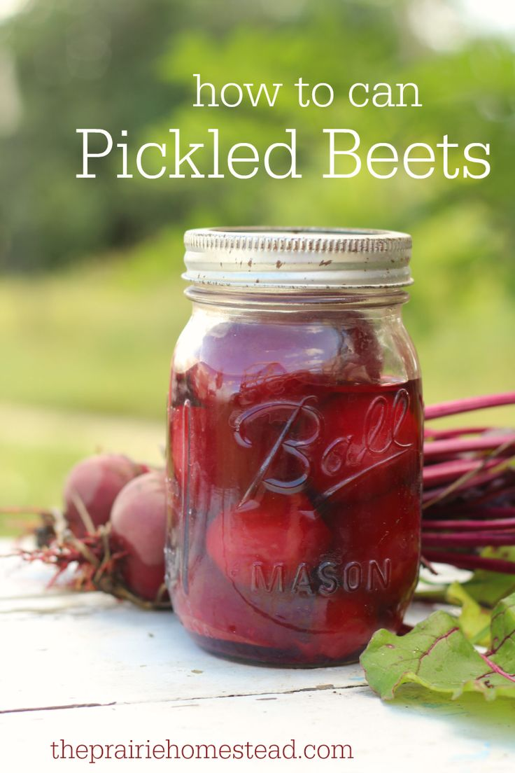 Old Fashioned Pickled Beets With Canned Beets