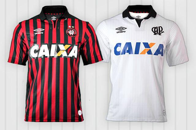 Camisas do Atlético Paranaense 2014-2015 Umbro