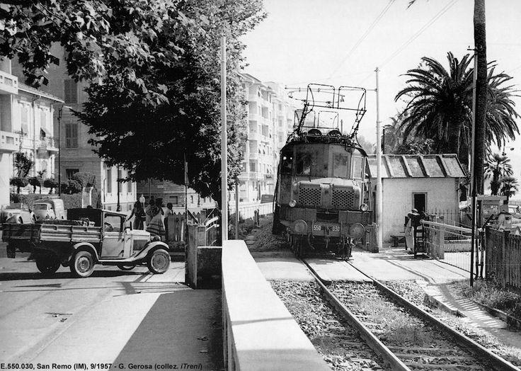 Gli anni 50-60 - E.550, San Remo.