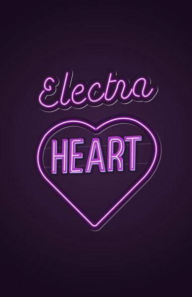 Electra Heart - Marina and the Diamonds Art Print by Nicholas Musi