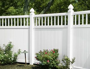 Best 25 White Vinyl Fence Ideas On Pinterest White