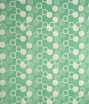 Helmsley furnishing fabric, by Marianne Straub (1909-94) for Warner & Sons Ltd. Woven cotton. England, 1951.