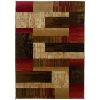 @Overstock.com - Designed with warm earth tones, this contemporary styled rug from Western Elegance will add charm and style to any decor. This rug features a southwestern style in tones of brown, red, beige and tan.http://www.overstock.com/Home-Garden/Western-Elegance-Tallys-Road-Calm-Afternoon-Area-Rug-9x122/7584837/product.html?CID=214117 $654.99
