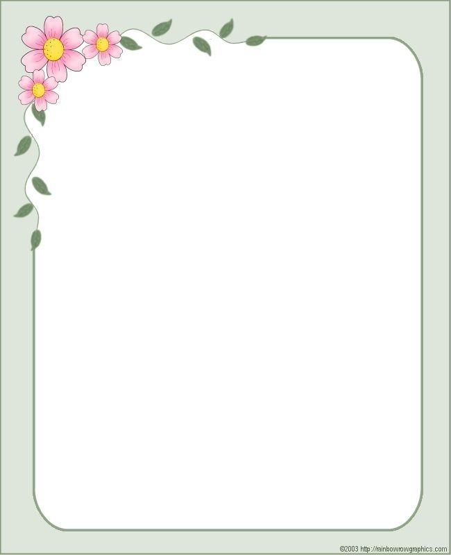 рамка с розовыми цветами...