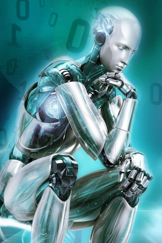 cool think robot wallpapers for iphone 6. sigueme para más walppapers Hd para Smartphone http://www.pinterest.com/jesbenje