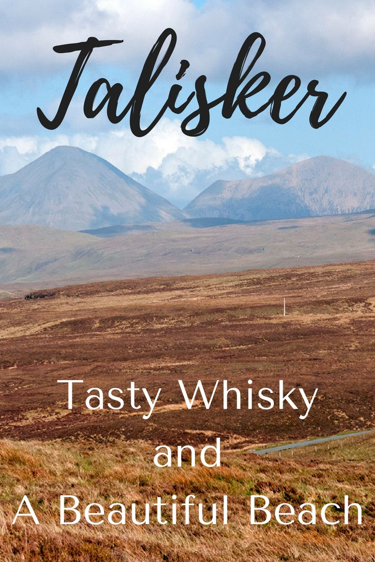 If you're heading to the Isle of Skye you have to do 2 things — visit Talisker Distillery and Talisker Bay at low tide. The whisky is tasty and the beach at Talisker Bay is stunning and the scenery is gorgeous as well! Click through to find out more.