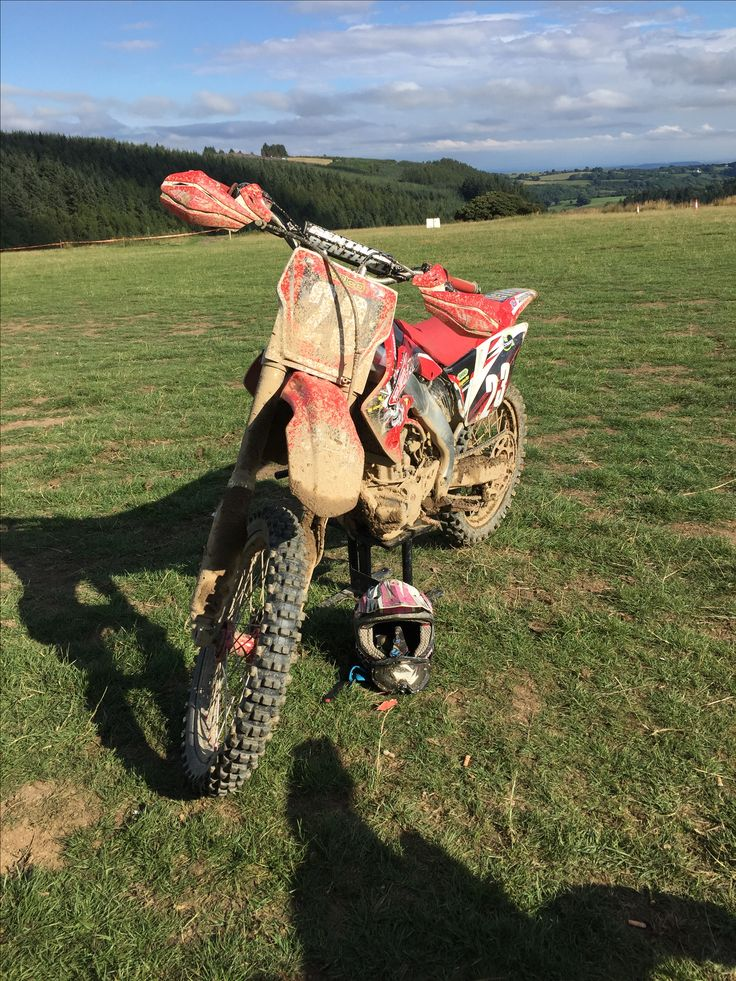 My baby Nice and dirty at H20 Oswestry enduro.