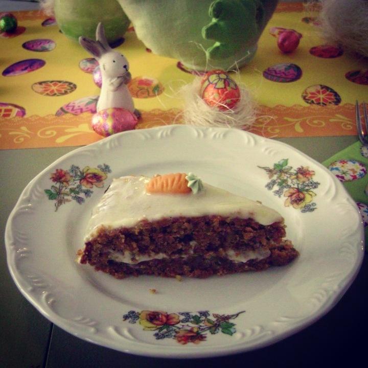 Carrot Cake, Matetrinken de Pascua.
