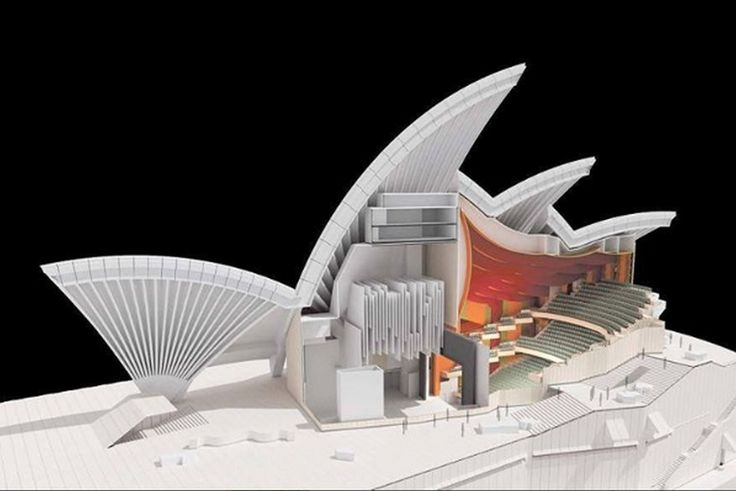 The Sydney Opera House- Courtesy Jan Utzon The Sydney Opera House