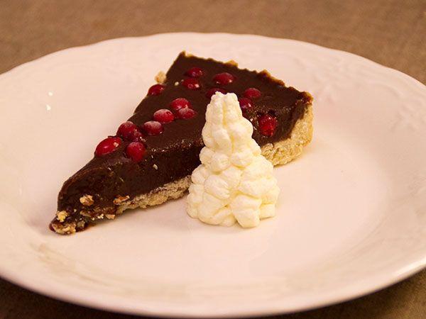 Sötsyrlig chokladkolapaj  | Recept.nu