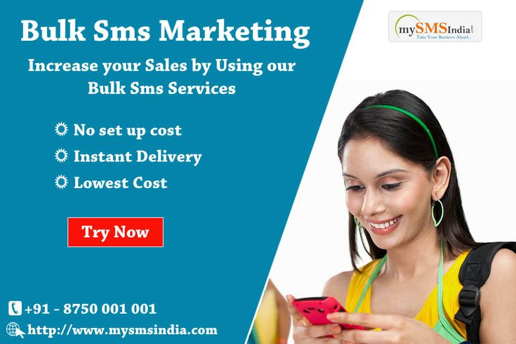Bulk Sms Marketing of mysmsindia.com/ is different from other Bulk sms Marketing agencies. We focus your ads with precision Only on your target audience. # https://goo.gl/uB2k5v