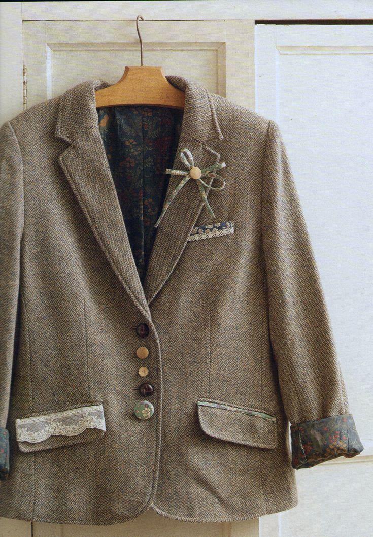 Customisation veste Frou-Frou par Lise Meunier