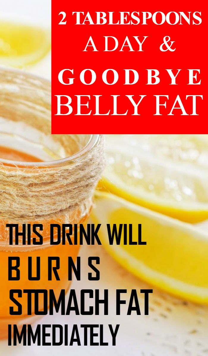 2 Tablespoons A Day And Goodbye Belly Fat. This Drink Will ...