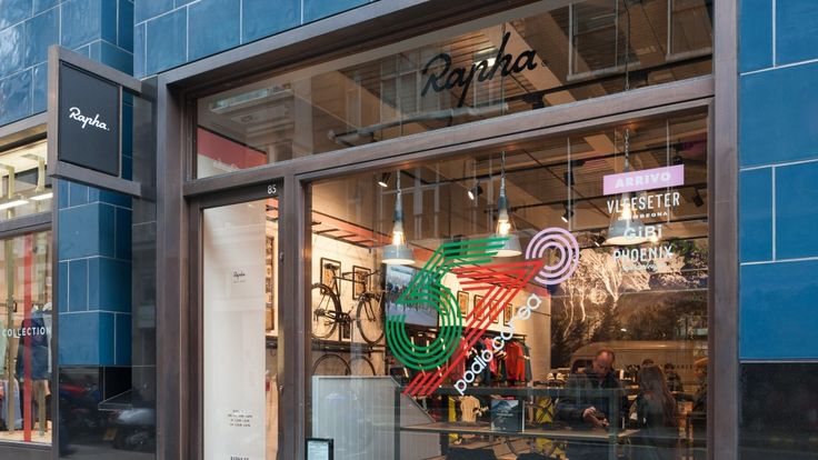 Rapha Cycle Club London: olds the entire range of Rapha products, as well as serving the finest food and coffee from the Club Cafe. Offering an unrivalled live racing watching experience, CCLDN is the perfect home for the sport and culture of road racing.