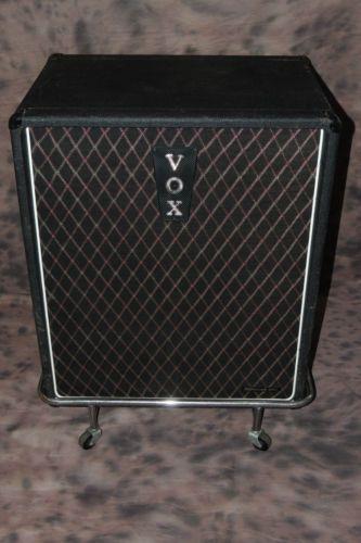 Vintage Vox Jmi Quot Foundation Bass Quot Amp Speaker Cabinet W