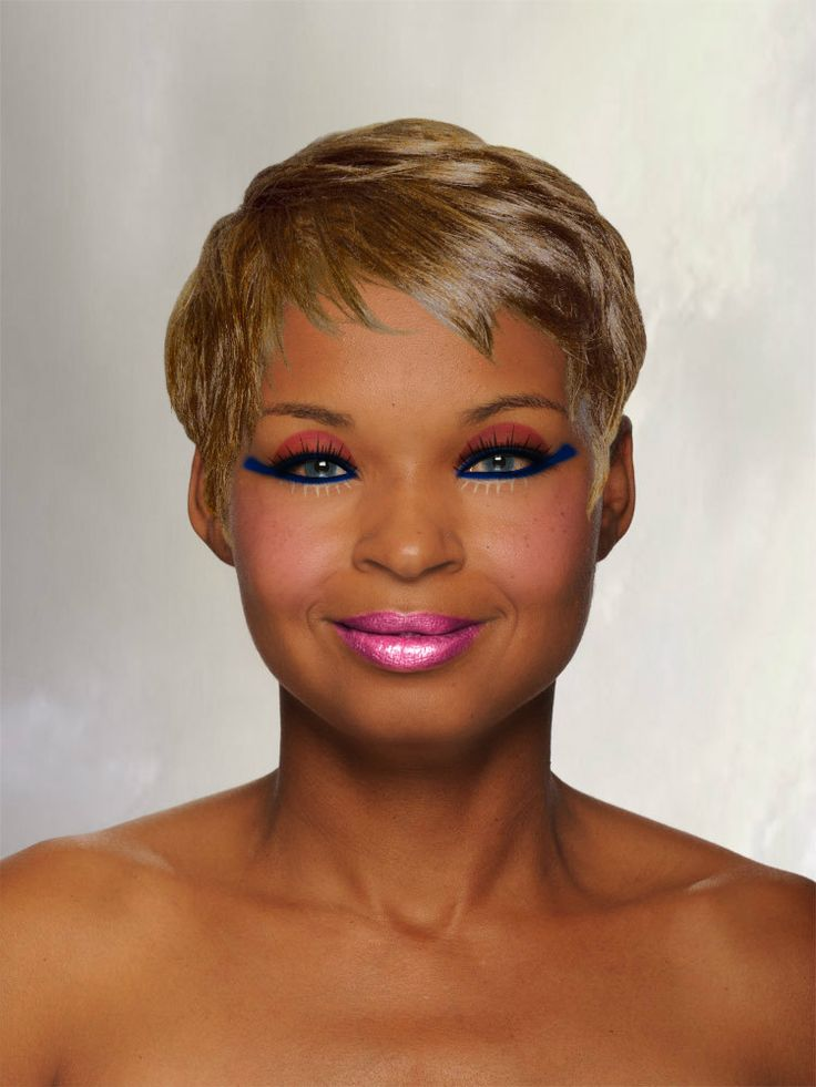 """""""LILA"""" created using TAAZ Virtual Makeover. Try on Hairstyles, Makeup, and color your own hair. It's free!"""