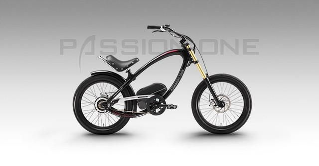 smart hybrid bicycle Passion ONE luxury design lithium battery electric bicycle moped motor drive