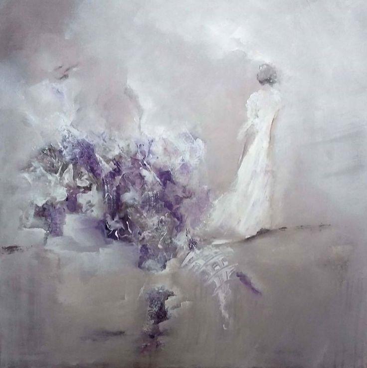#acrylic #art #abstract# 70*70